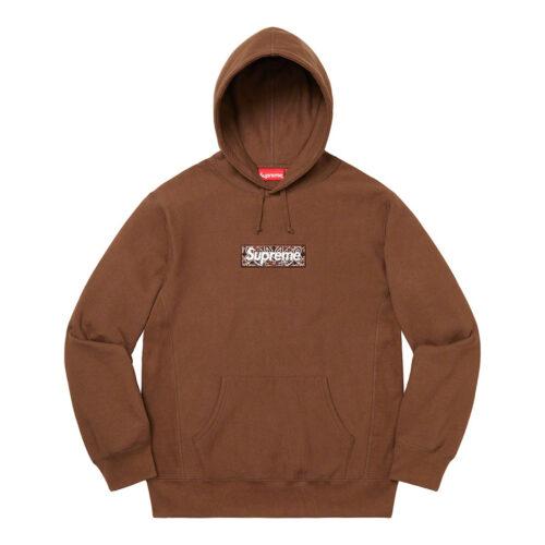 Supreme Bandana Box Logo Hoodie