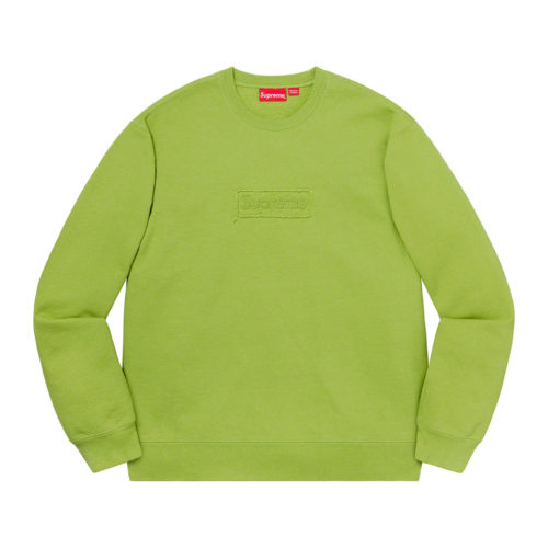Supreme Cutout Box Logo Crewneck