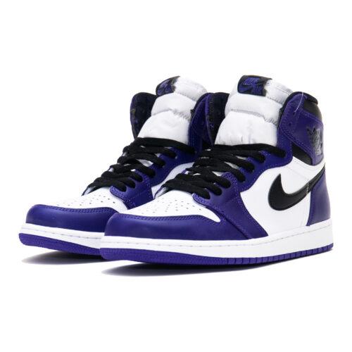 Jordan I Court Purple