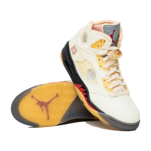 Jordan Retro V x Off White Sail