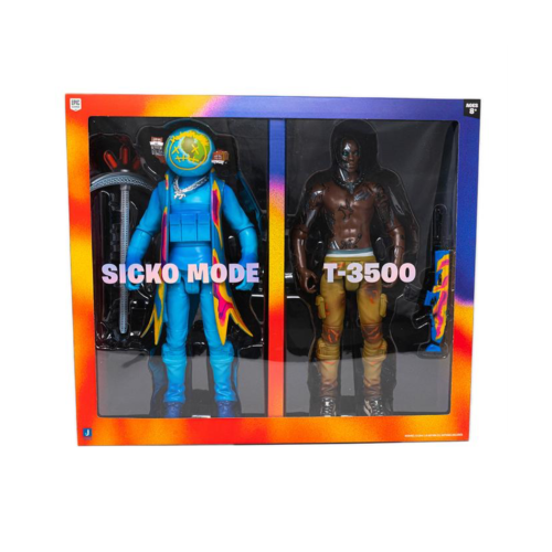 Travis Scott Action Figure