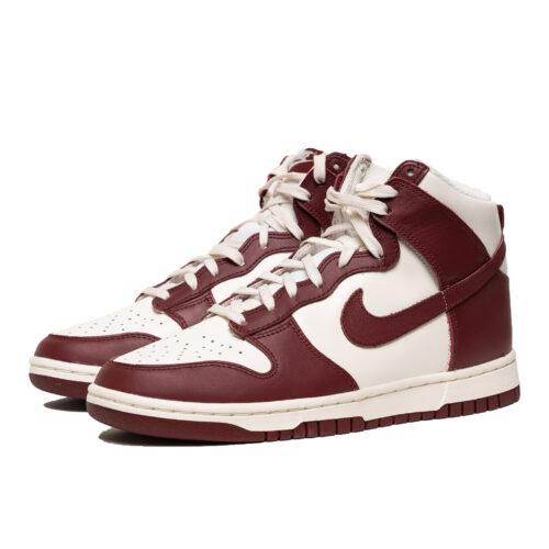 Nike Dunk High Sail Red