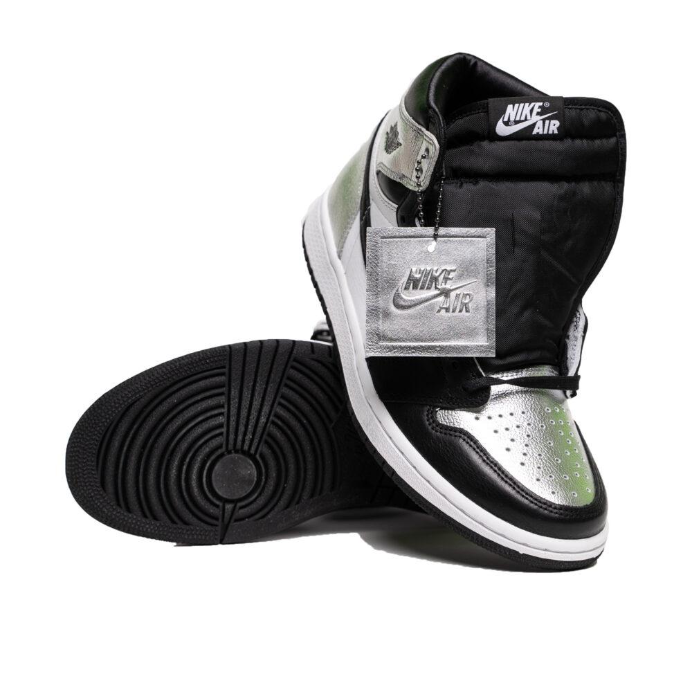 Air Jordan I Silver Toe