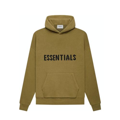 Essentials Knit Hoodie