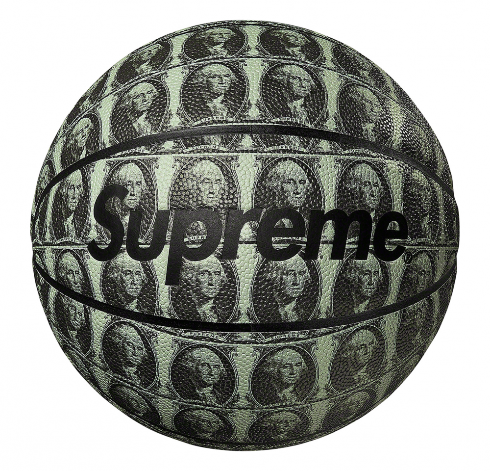 Supreme x Spalding Basketball